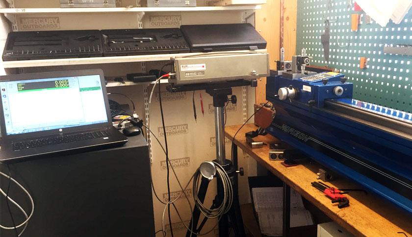 kalibrering av mätbänkar, planskivor, höjdmätare och mätmaskiner