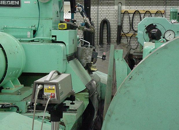 uppmätning och uppriktning av slipmaskiner